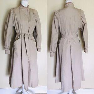 Vintage 60's tan Trench Coat